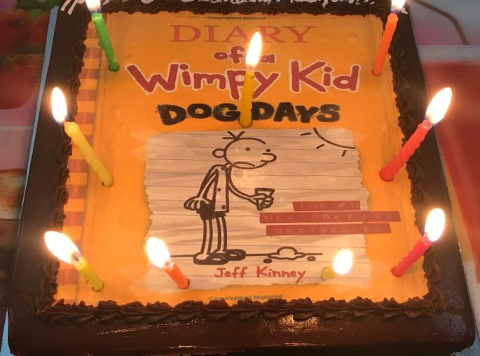 #birthday #cake #wimpykid